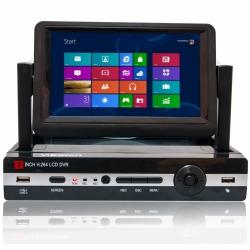 VidStar VSR-0450-LED - Видеорегистратор 4 канальный с монитором