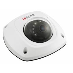 HiWatch DS-T251 - 2МП HD-TVI внутренняя купольная камера с микрофоном