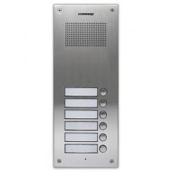 Commax DR-6UM - Вызывная аудиопанель на 6 абонентов