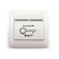 JB-EX02P - Кнопка выхода пластиковая врезная