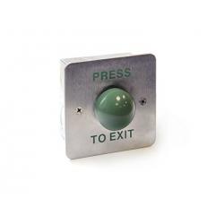 JB-EX07M - кнопка выхода металлическая с зеленой кнопкой