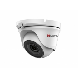 HiWatch DS-T203S - 2Мп уличная купольная HD-TVI камера с EXIR-подсветкой до 30м