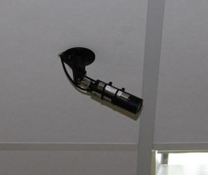 Установка видеокамеры с микрофоном