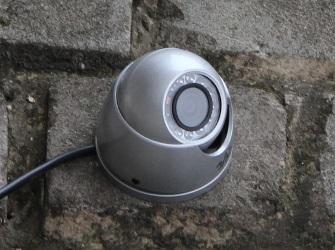 Установка уличной видеокамеры RVi-123ME