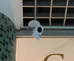 Установка IP видеонаблюдения в отеле
