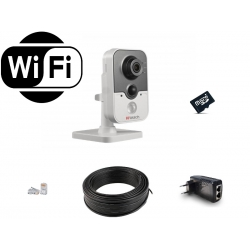 HiWatch WiFi (1MP) для помещений на 1 камеру