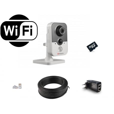 HiWatch WiFi (1MP) для помещений на 1 камеру