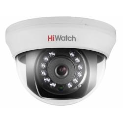 HiWatch DS-T591 - 5МП HD-TVI купольная камера с ИК-подсветкой