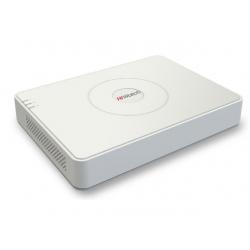 HiWatch DS-N208P(B) - IP видеорегистратор (NVR) 8 канальный с PoE