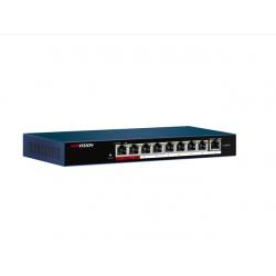 Hikvision DS-3E0109P-E/M(B) -  PoE коммутатор