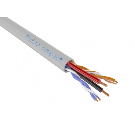 Кабель ParLan compact UUTP2 Cat5e PVC 2х0,50