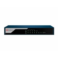 HiWatch DS-S804P - Коммутатор 8 портов, 4 PoE
