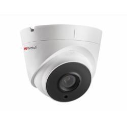 HiWatch DS-I253M - купольная IP-видеокамера с EXIR-подсветкой и микрофоном