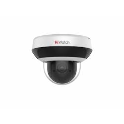 HiWatch DS-I205M - 2Мп уличная поворотная IP-камера c EXIR-подсветкой до 20м и встроенным микрофоном