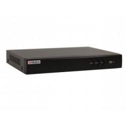 HiWatch DS-H204UA - 4-канальный гибридный HD-TVI регистратор c технологией AoC (аудио по коаксиально