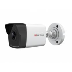 HiWatch DS-I250M - 2 Мп цилиндрическая IP-видеокамера с EXIR-подсветкой и микрофоном