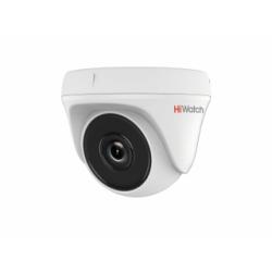 HiWatch DS-T133 - Купольная HD-TVI видеокамера с EXIR-подсветкой до 20 м