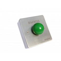 ST-EX131 - кнопка металлическая, врезная, грибок