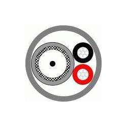 Кабель КВК-П-2э 2x0,75 чёрный (Паритет)