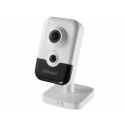 HiWatch IPC-C042-G0/W - 4 Мп компактная IP-камера фиксированным объективом и ИК-подсветкой