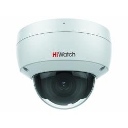 HiWatch IPC-D022-G2/S - 2 Мп купольная IP-камера с EXIR-подсветкой и фиксированным объективом