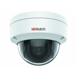 HiWatch IPC-D042-G2/S - 4 Мп купольная IP-камера с EXIR-подсветкой и фиксированным объективом