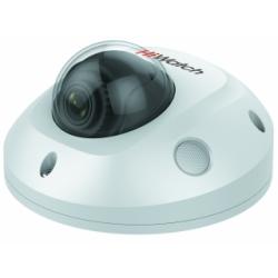 HiWatch IPC-D522-G0/SU - 2 Мп купольная IP-камера (мини) с фиксированным объективом и ИК-подсветкой