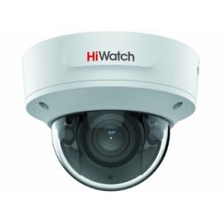 HiWatch IPC-D642-G2/ZS - 4 Мп купольная IP-камера с EXIR-подсветкой и моторизованным вариофокальным