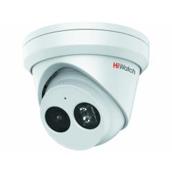 HiWatch IPC-T022-G2/U - 2 Мп купольная IP-камера с фиксированным объективом и EXIR-подсветкой