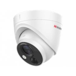 HiWatch DS-T213(B) - 2МП HD-TVI купольная камера с EXIR-подсветкой и PIR-датчиком