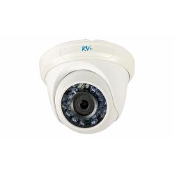 RVi-C321B (2.8 мм) видеокамера цветная купольная с ИК подсветкой
